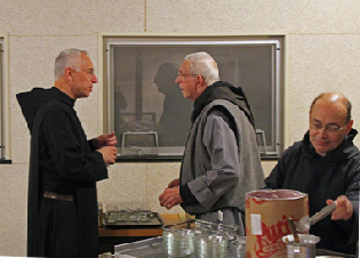 Fr. Konrad & monks